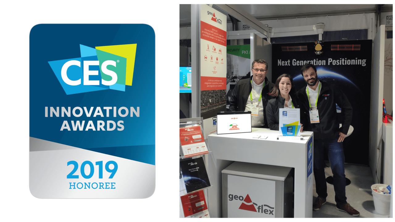 Geoflex Wins Award at CES 2019